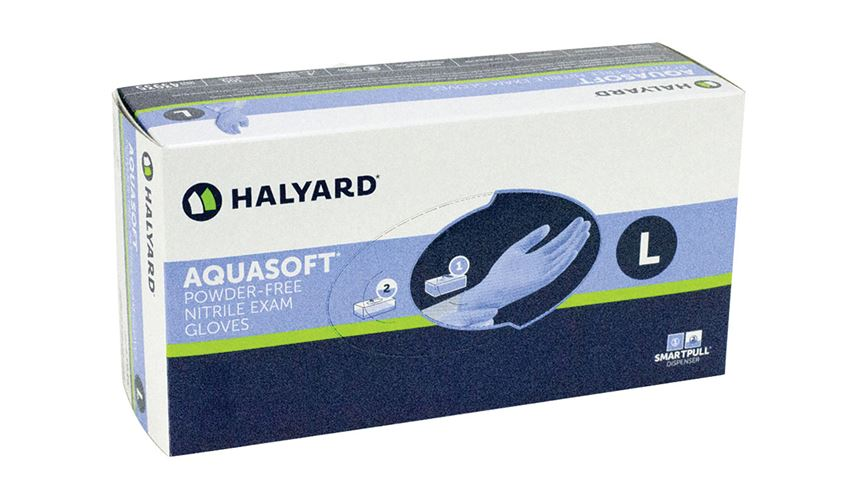 Halyard Aquasoft Nitrile Exam Gloves