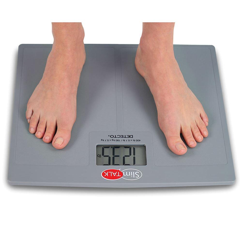 ... DETECTO® SlimTalk And SlimTalk XL Bathroom Scales ...