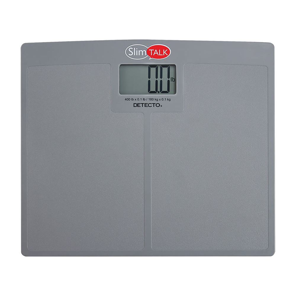 detecto slimtalk and slimtalk xl bathroom scales - Bathroom Scales