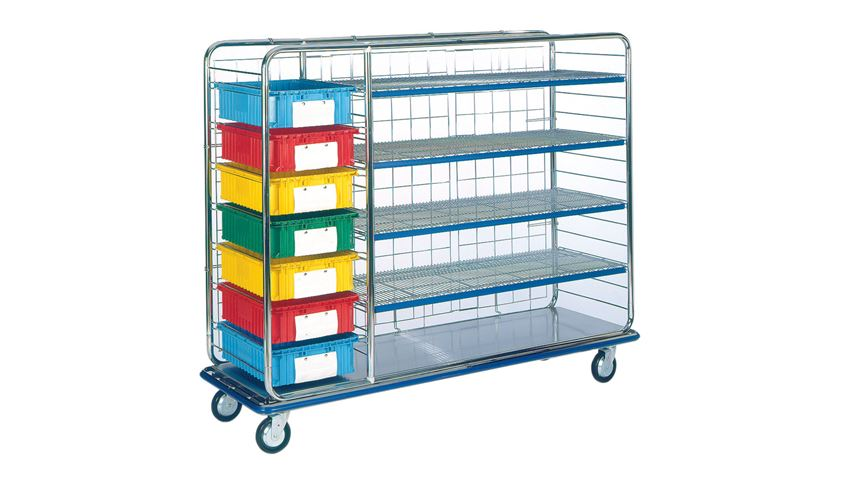 Logiquip Exchange/Supply Cart with Drawers