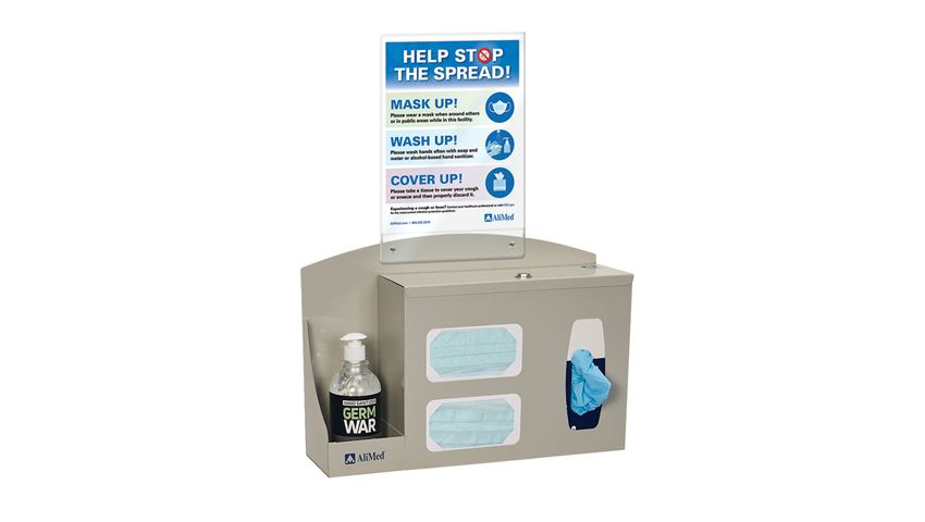 AliMed® Infection Prevention Station, Counter/Wall