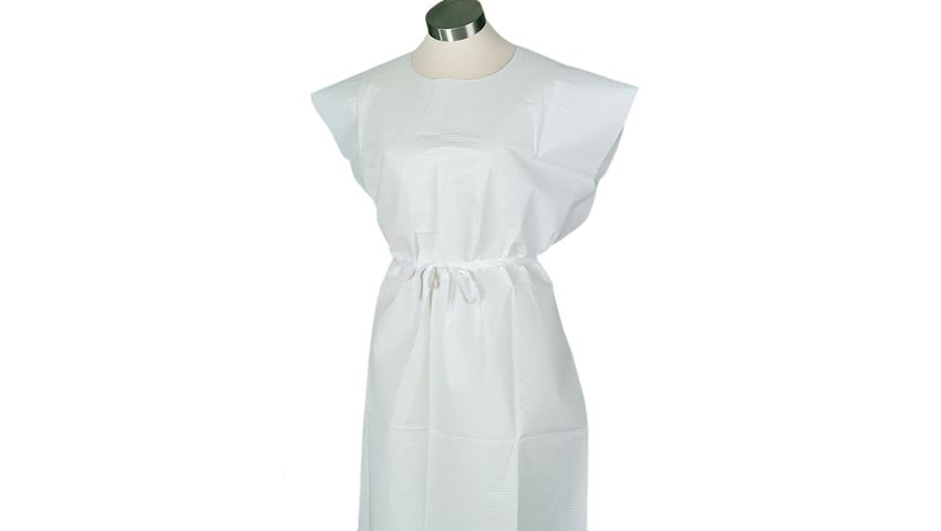 Poly/Tissue and Cellulose Tissue Disposable Exam Gowns