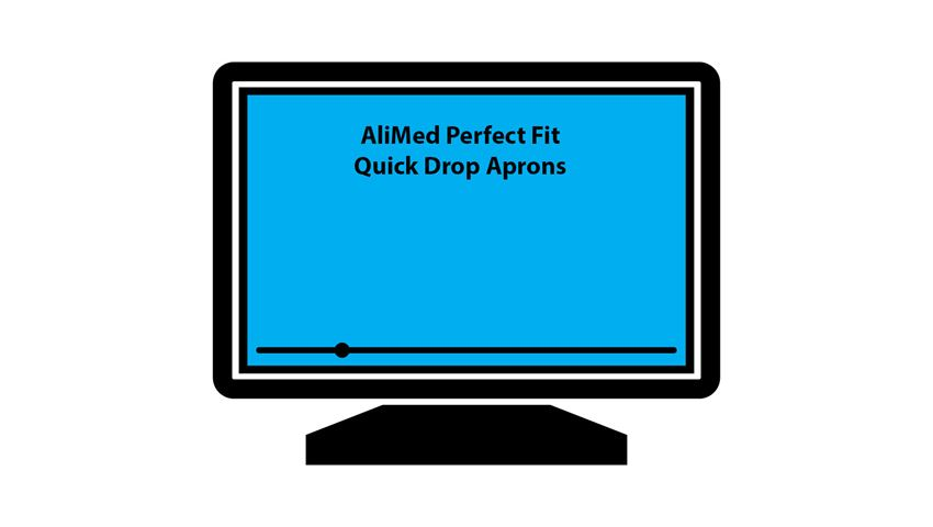 AliMed® Perfect Fit™ Quick Drop Basic Apron