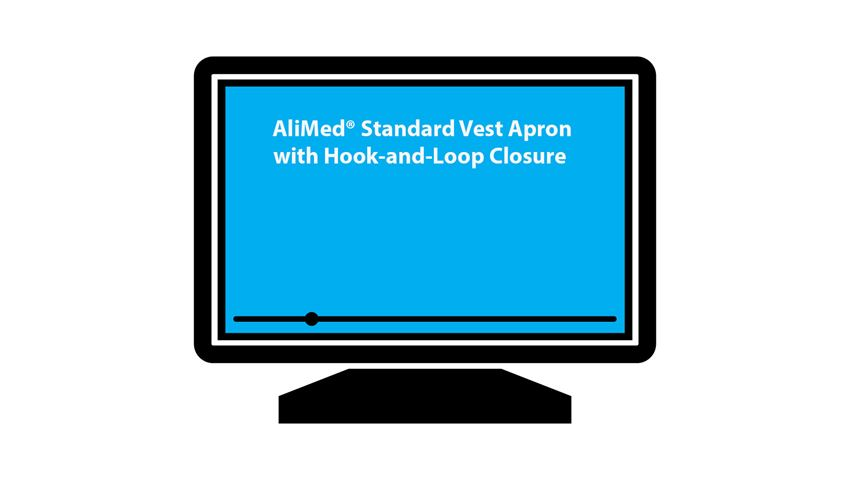 AliMed® Perfect Fit™ Standard Vest Apron, Hook-and-Loop Closure