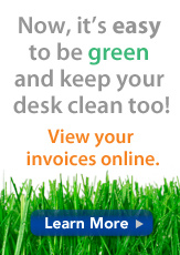 AliMed Invoices Online - Go Green!