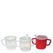 Translucent Mugs with 2 Lids