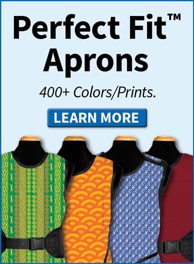 Order your Perfect Fit apron online