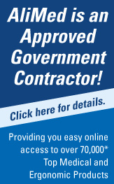 AliMed is an approved Government Contractor