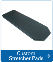 custom stretcher pads