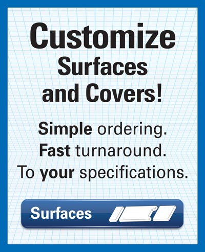 Custom Surfaces and covers