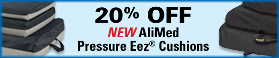 20% Off New AliMed Pressure Eez Cushions.