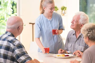 Proper Nutrition for Older Adults and Residents With Alzheimer's