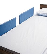 image of skilcare splitrail vinyl bed rail pads with sku
