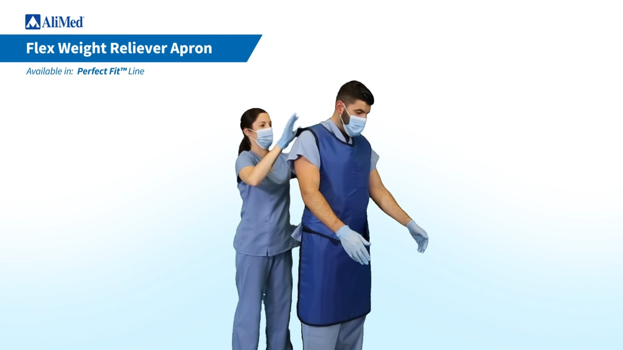AliMed® Flex Weight Reliever Apron Donning Video