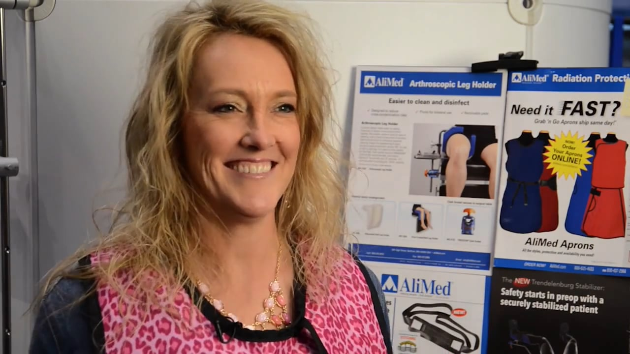 Customer Interview: AliMed Lead Aprons Video