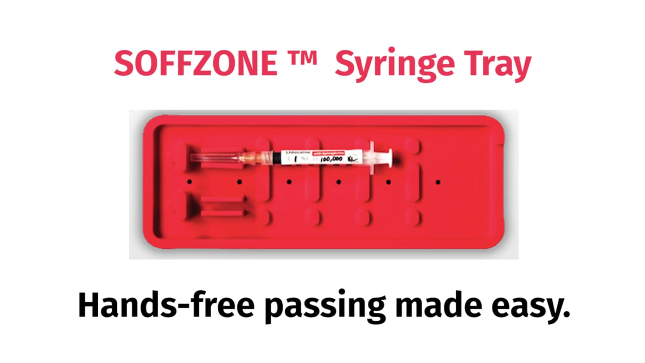 Soffzone Syringe Tray Video