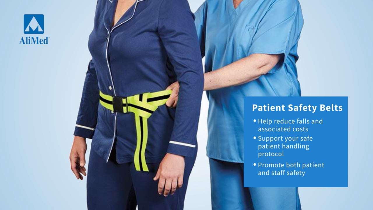 AliMed® Patient Safety Belts Video