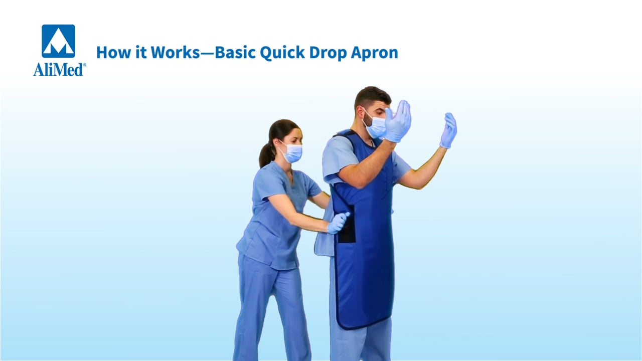 AliMed® Quick Drop Radiation Protection Aprons Video