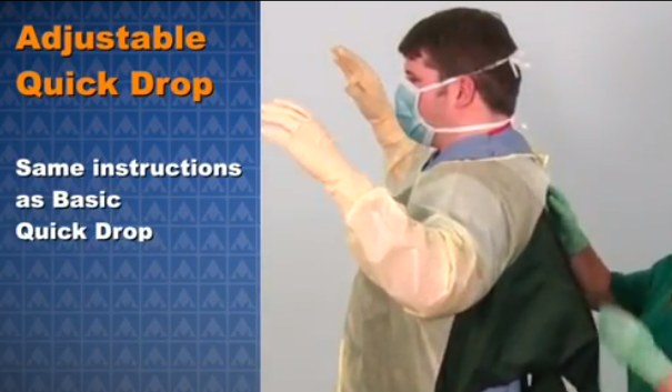 Quick Drop Radiation Protection Aprons