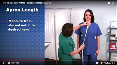 AliMed Radiation Protection Apron Choices