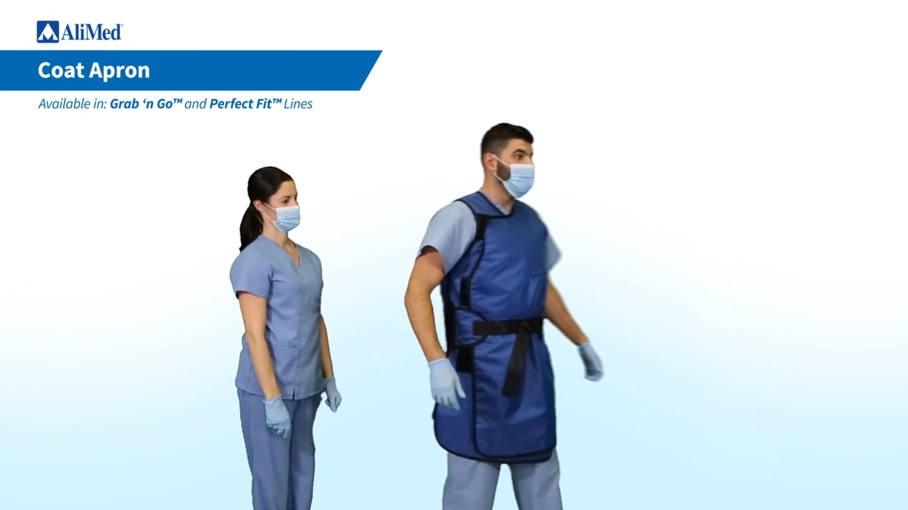 AliMed®  Coat Apron Donning Video