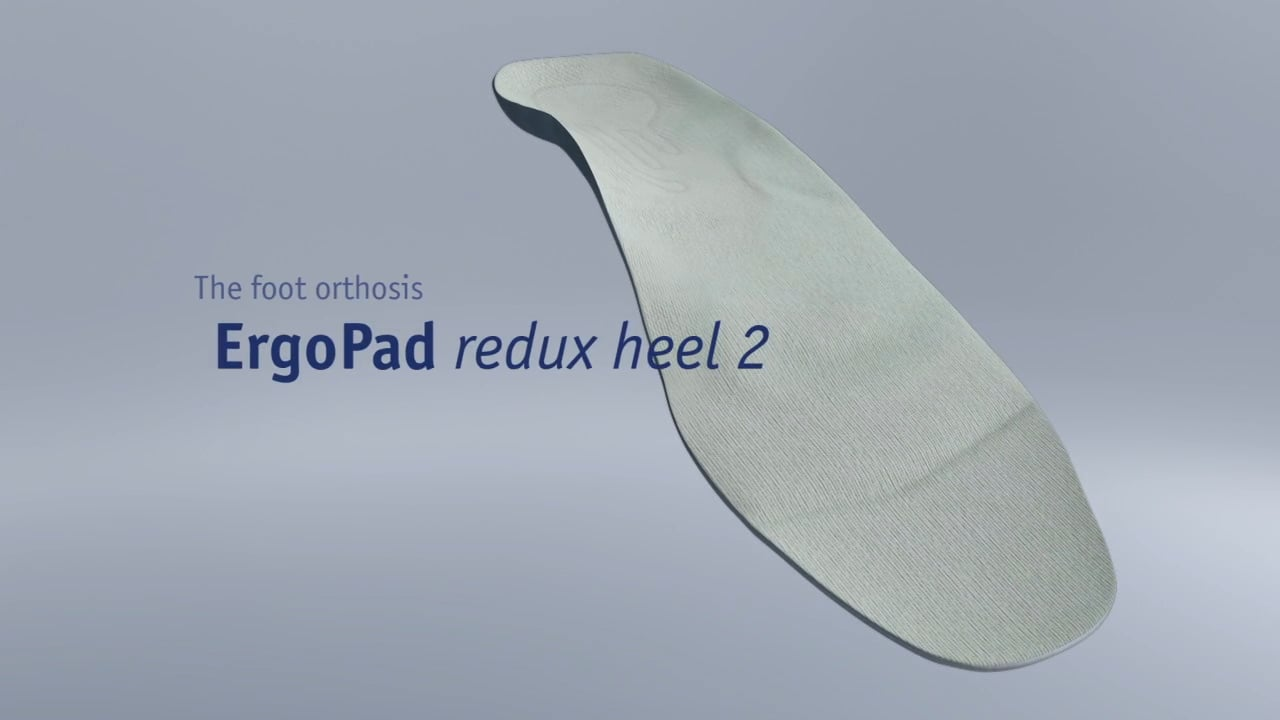 Bauerfeind ErgoPad redux heel 2 Insoles Video