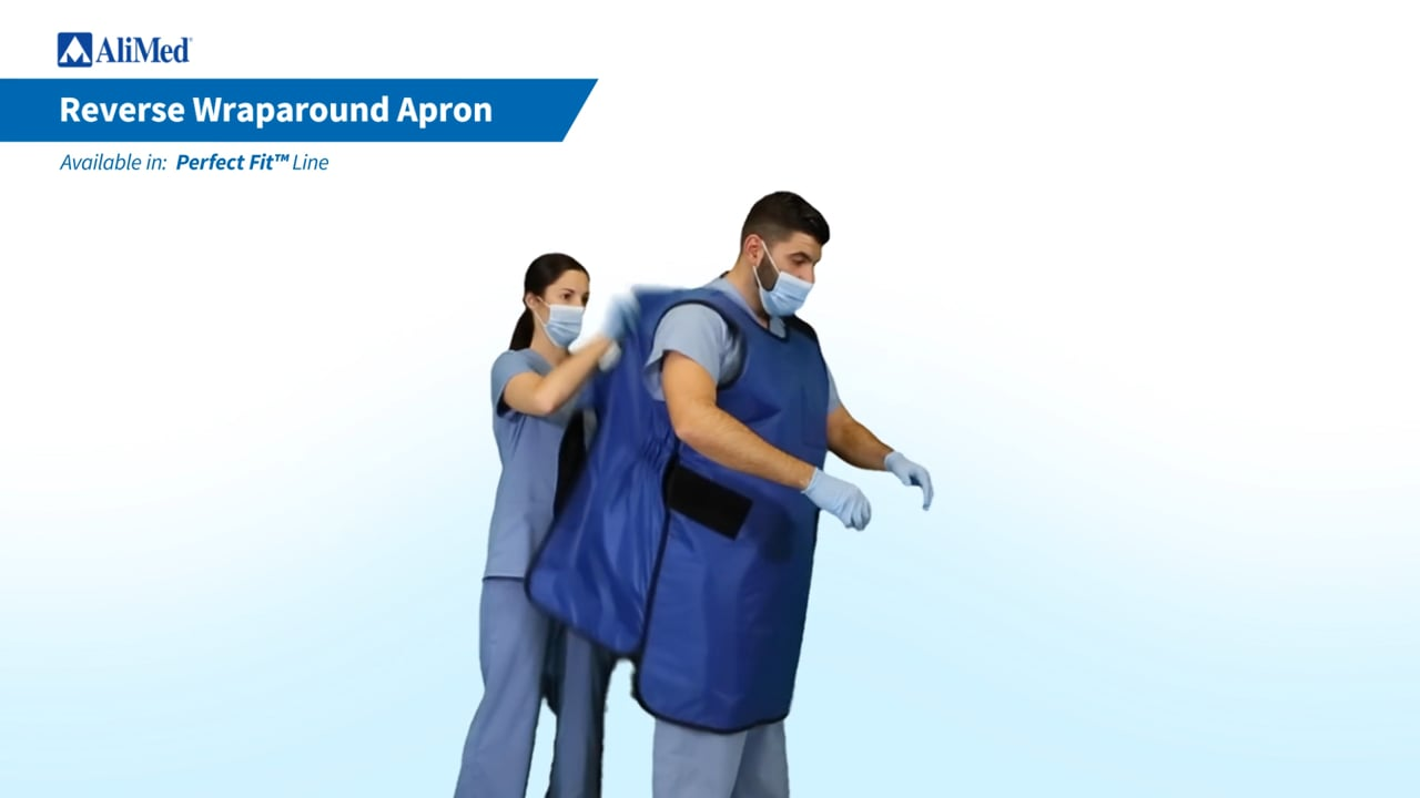AliMed® Reverse Wraparound Apron Donning Video