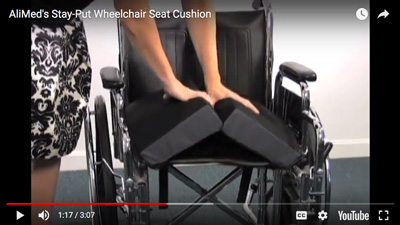 AliMed Stay-Put Wheelchair Seat Cushions