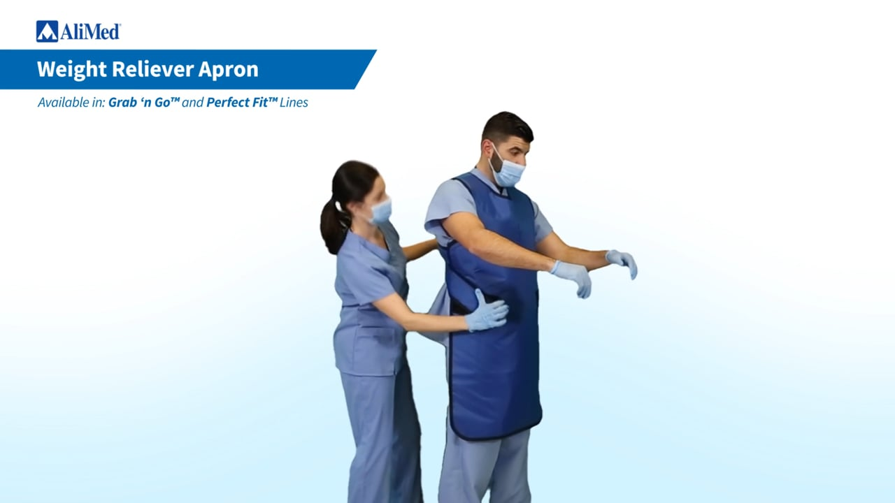 AliMed® Standard Weight Reliever Apron Donning Video